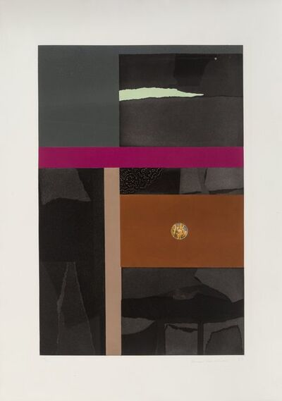 Louise Nevelson, 'Untitled, from Aquatints Portfolio', 1973