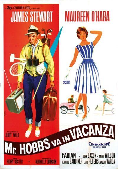 Dante Manno, 'MR.HOBBS VA IN VACANZA', 1962
