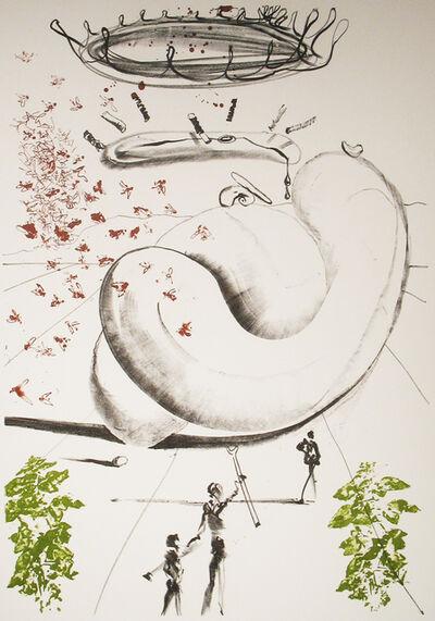 Salvador Dalí, 'Moscas', 1973