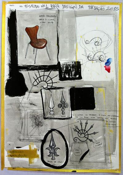 Daniel Murgel, 'Estudo n°1 para Design da Turbação [Study n°1 for Design of Disturbance]', 2015