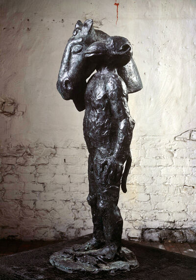 "Jörg Immendorff, '""Malerstamm - Blinky""', 2002"