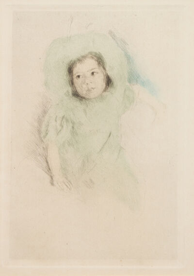 Mary Cassatt, 'Margot Wearing a Bonnet (No. 1)', c. 1902