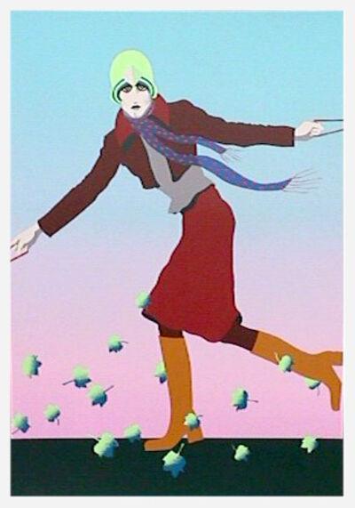Kiki Kogelnik, 'Prenez le Temps d'Aimer', 1974
