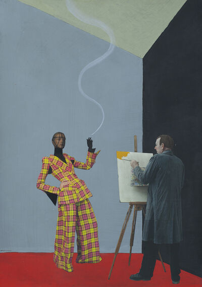Paolo Ventura, 'The Painter's Story #02', 2019