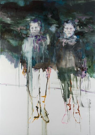 Edwige Fouvry, 'Deux Apparitions', 2015