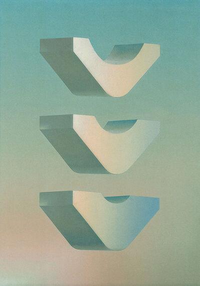 Miguel Caride, 'De los espacios del sueño', 1970