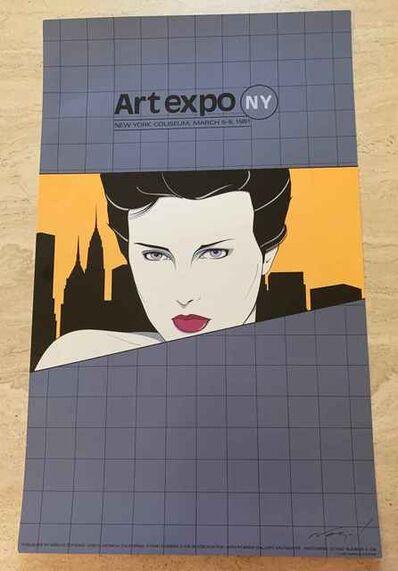 Patrick Nagel, 'Art Expo NY Poster', 1981