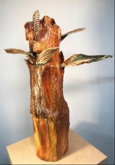 Carol Goebel, 'Leaf Obelisk', 2017