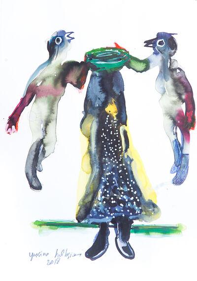 Yassine Balbzioui, 'Watercolor 4', 2018