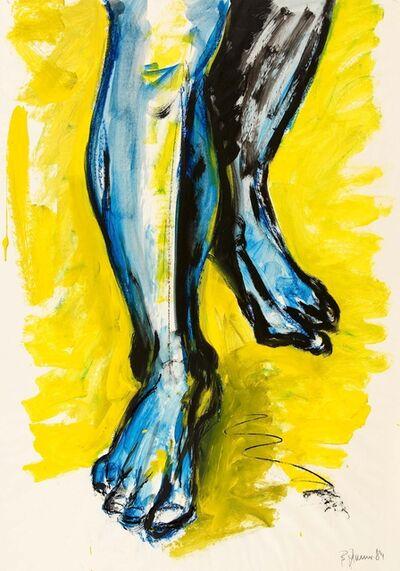 Bernd Zimmer, 'Untitled (Feet)', 1984