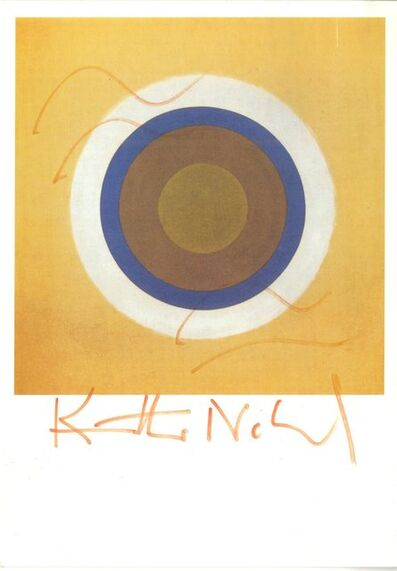 Kenneth Noland, 'Gift (Hand signed) ', ca. 2000