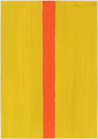 Günther Förg, 'Untitled (yellow-orange)', 1988