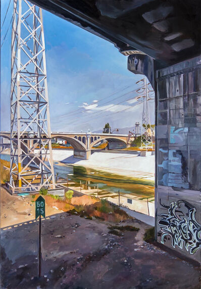 Patricia Chidlaw, 'View from the Train, L.A. River', 2014
