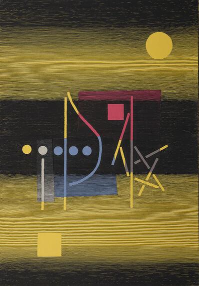 Michel Seuphor, 'Deux drapeaux'