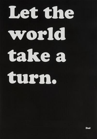 Ryan Gander, 'Let the World Take a Turn', 2018