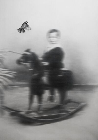 Zoé Byland, 'Boy and bird out of  focus', 2019