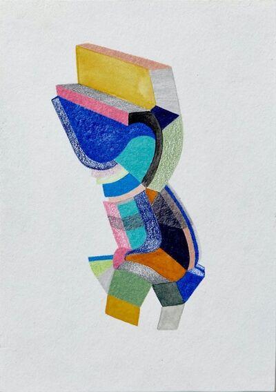 Sasha Hallock, 'Learning to love the past, Small Works No. 32', 2018