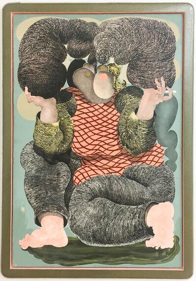 Alex Feuerstein, 'Raucherin III', 2018