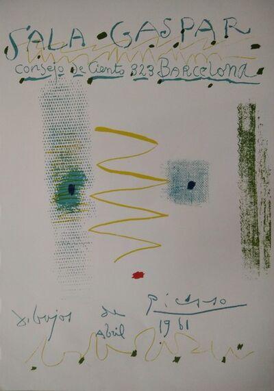 Pablo Picasso, 'Sala Gaspar - dibujos de Picasso', 1961