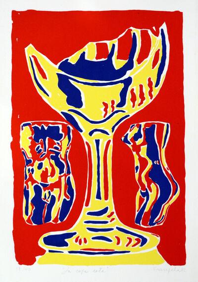 Luis Frangella, 'La Cosa Rota / The Brother Goblet', 1982