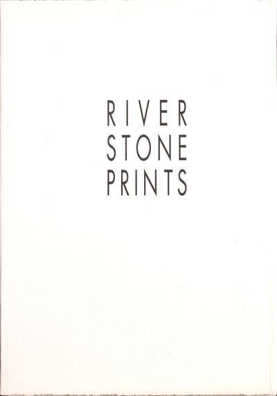 Richard Long, 'River Stone Prints – Portfolio', 1995
