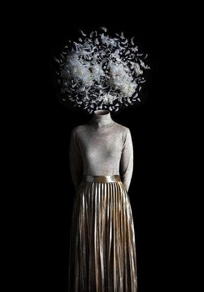 Miguel Vallinas, 'Ceci n'est pas des plumes dans l'air', ca. 2017