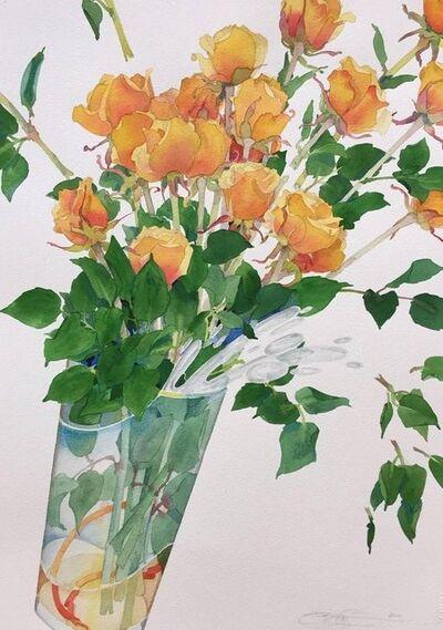 Gary Bukovnik, 'Celebration Roses III', 2017
