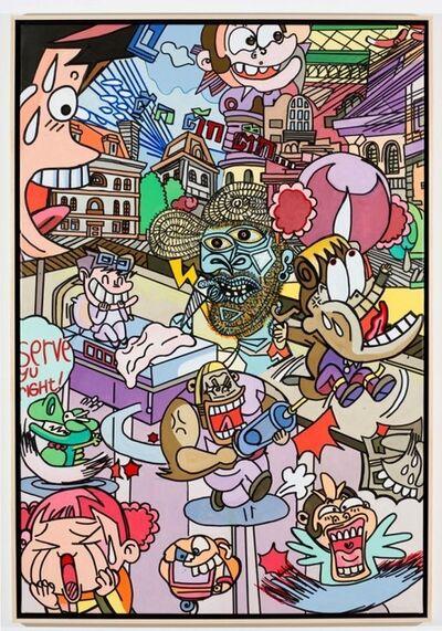 Erró, 'Manga Picasso Nr. 2', 2011