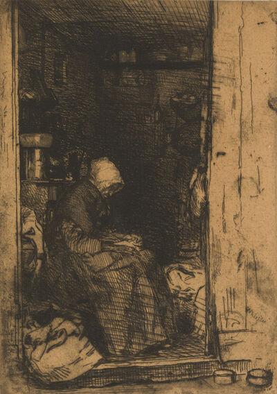 James Abbott McNeill Whistler, 'La Vieille Aux Loques', 1858