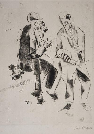 Marc Chagall, 'Les Grands Pères', 1922