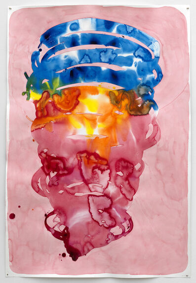 Maria Roosen, 'Spiral (Alizarin, yellow, orange, blue spiral)', 2018