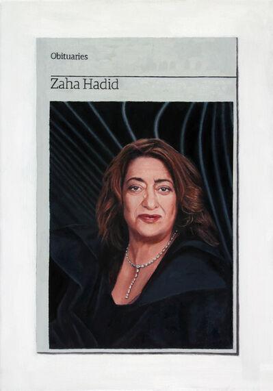Hugh Mendes, 'Obituary: Zaha Hadid', 2016