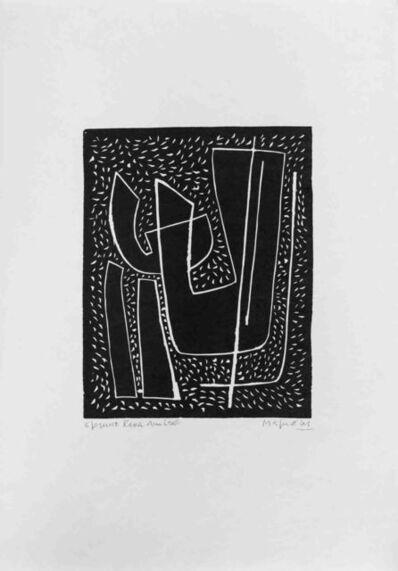 Alberto Magnelli, 'Untitled I (Fond Noir)', 1970