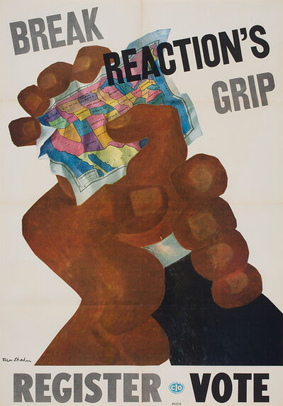 Ben Shahn, 'Break Reaction's Grip ', n.d.