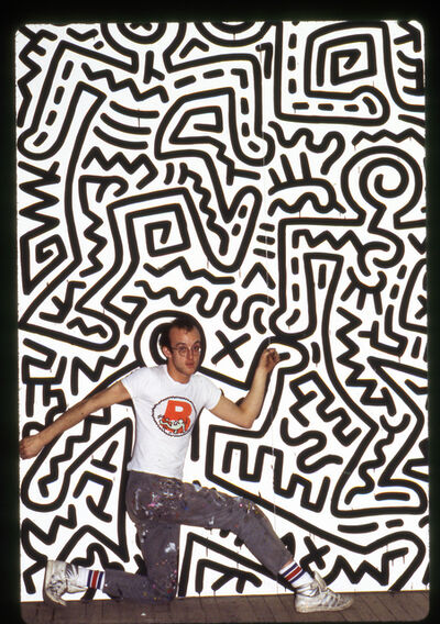Tseng Kwong Chi, 'Keith Haring, Brooklyn Academy of Music, New York', 2014
