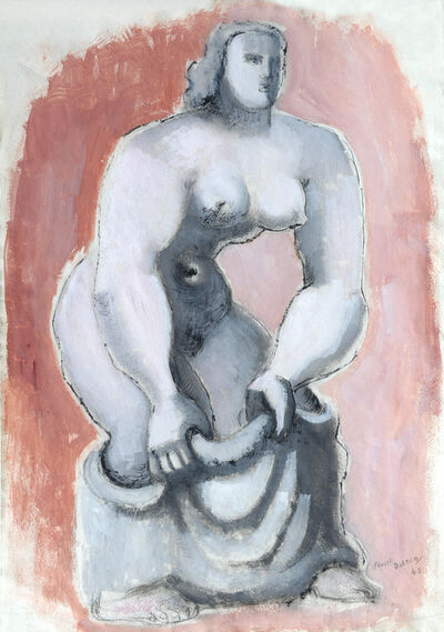 Frank Dobson, 'Woman with Towel', 1943
