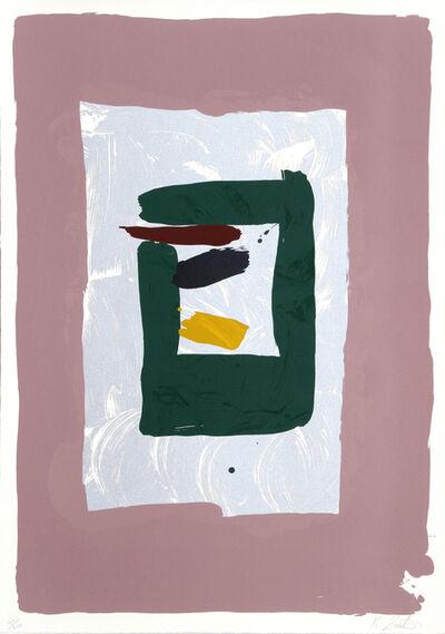 Kikuo Saito, 'Pink Square', ca. 1980