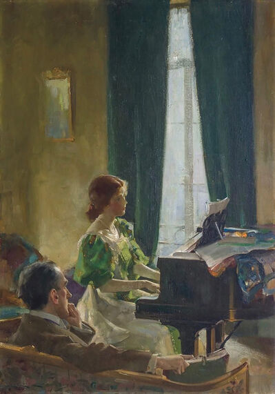 Charles E. Chambers, 'The Piano Lesson', 20th Century