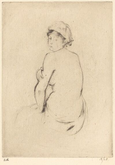 Berthe Morisot, 'Nude', 1888/1890