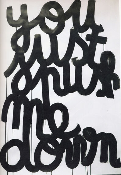 Anne-Lise Coste, 'you just push me down', 2005