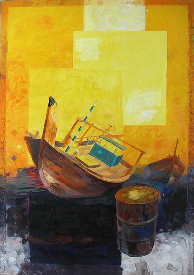 Abdul Qader Al Rais, 'Boat', 2015