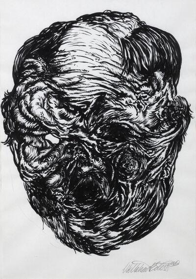 Willehad Eilers, 'Fleischgesicht 01', 2011