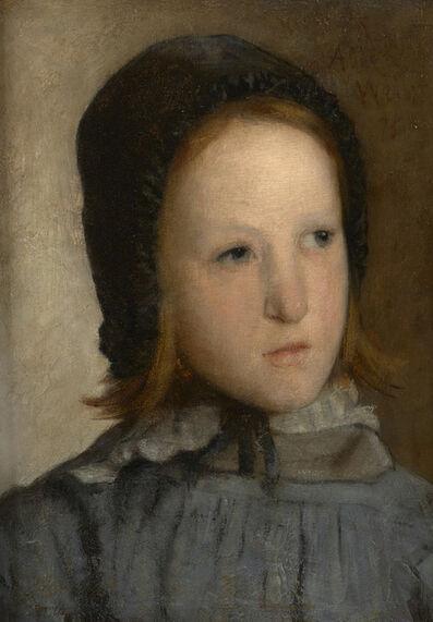 Julian Alden Weir, 'Jeune Fille', 1875