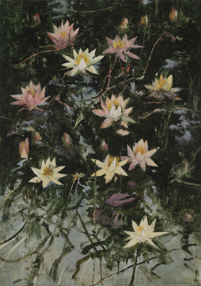 John Alexander, 'Swamp Lilies', 2019