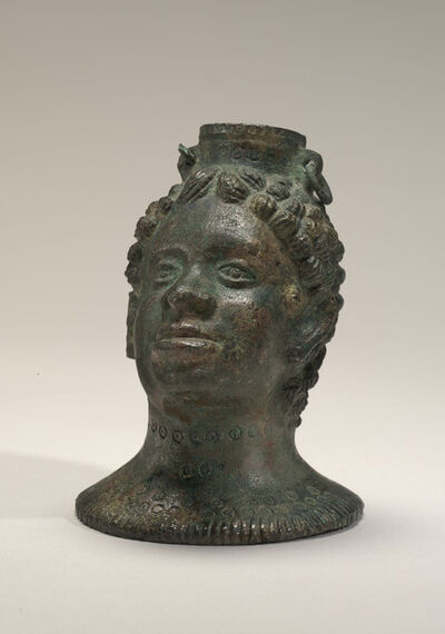 'Container in the Form of an African's Head', 4th/2nd century B.C.