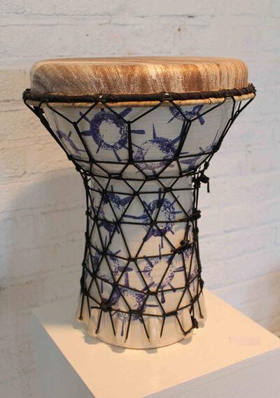 Hadrian Mendoza, 'Djembe #1 (Functional Drum)'
