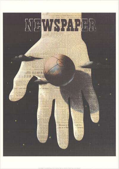 A.M. Cassandre, 'Newspaper', 1998
