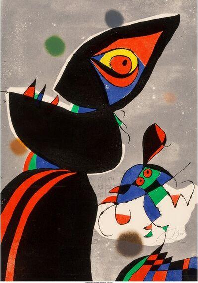 Joan Miró, 'Gaudí XVII', 1979