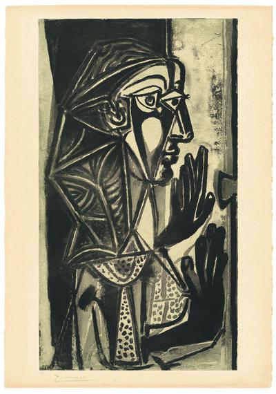 Pablo Picasso, ' La Femme a la Fenêtre', 1952