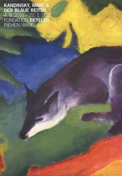 Franz Marc, 'Blue Fox', 2016